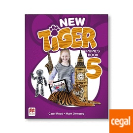 NEW TIGER 5. PUPIL´S BOOK