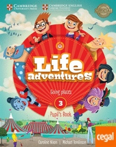 LIFE ADVENTURES. PUPIL´S BOOK. LEVEL 3
